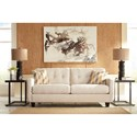 Benchcraft Drasco Contemporary Sofa with Tufted Back