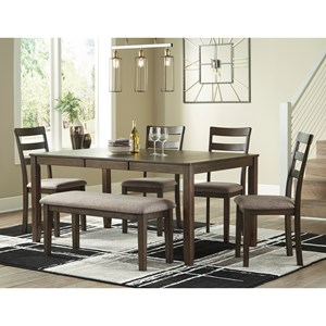 Dining Set with Bench