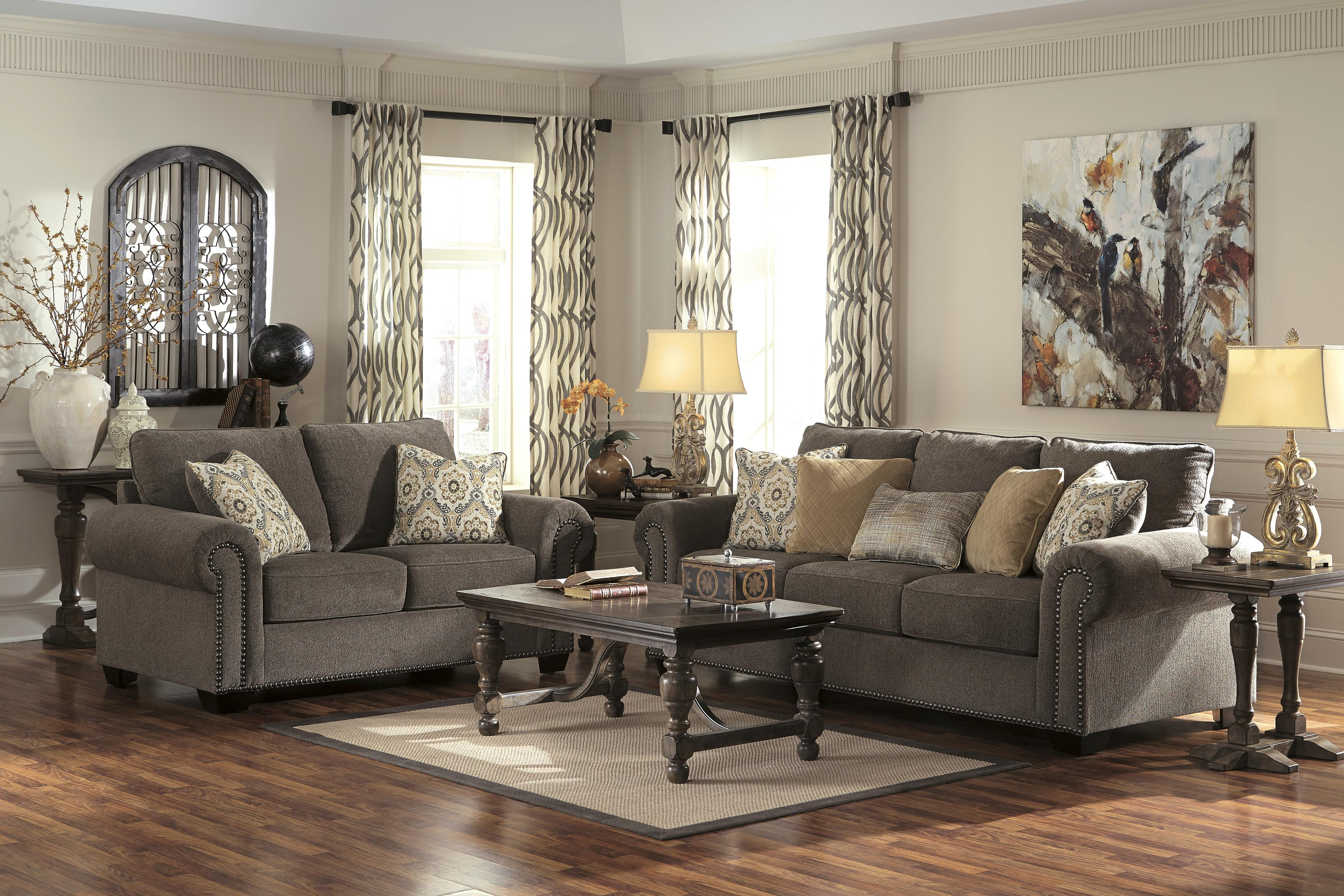 Benchcraft Emelen Stationary Living Room Group - Item Number: 45600 Living Room Group 1