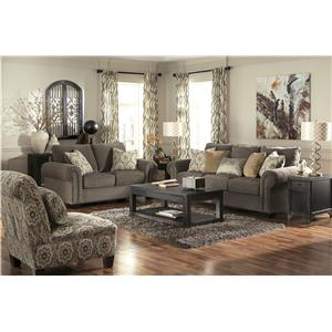 Signature Design By Ashley Emelen Stationary Living Room Group