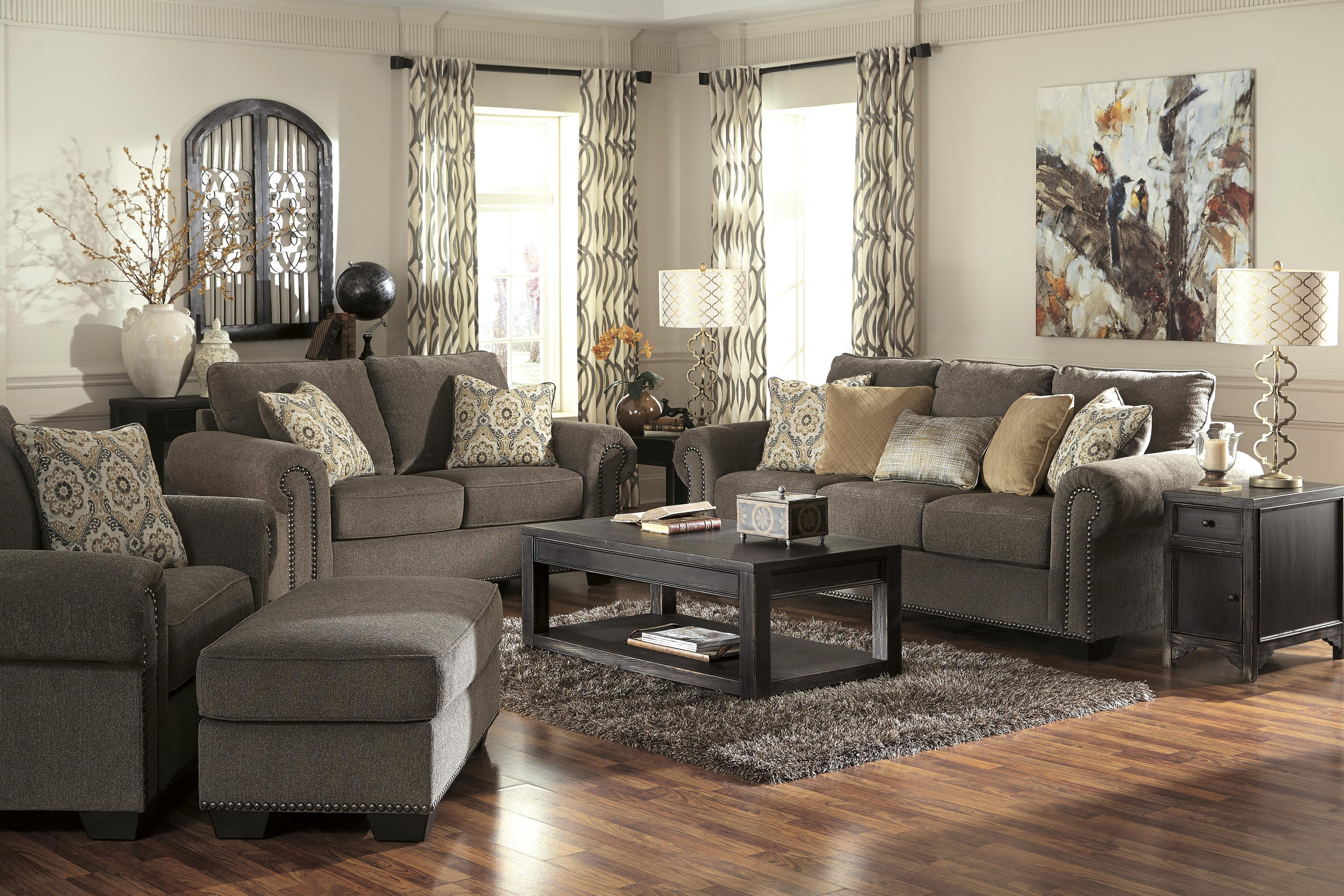 Benchcraft Emelen Stationary Living Room Group - Item Number: 45600 Living Room Group 3