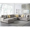 Benchcraft Fallsworth 4 Piece Sectional - Item Number: 9480216+34+77+56