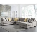 Benchcraft Fallsworth 4 Piece Sectional - Item Number: 9480255+77+34+17