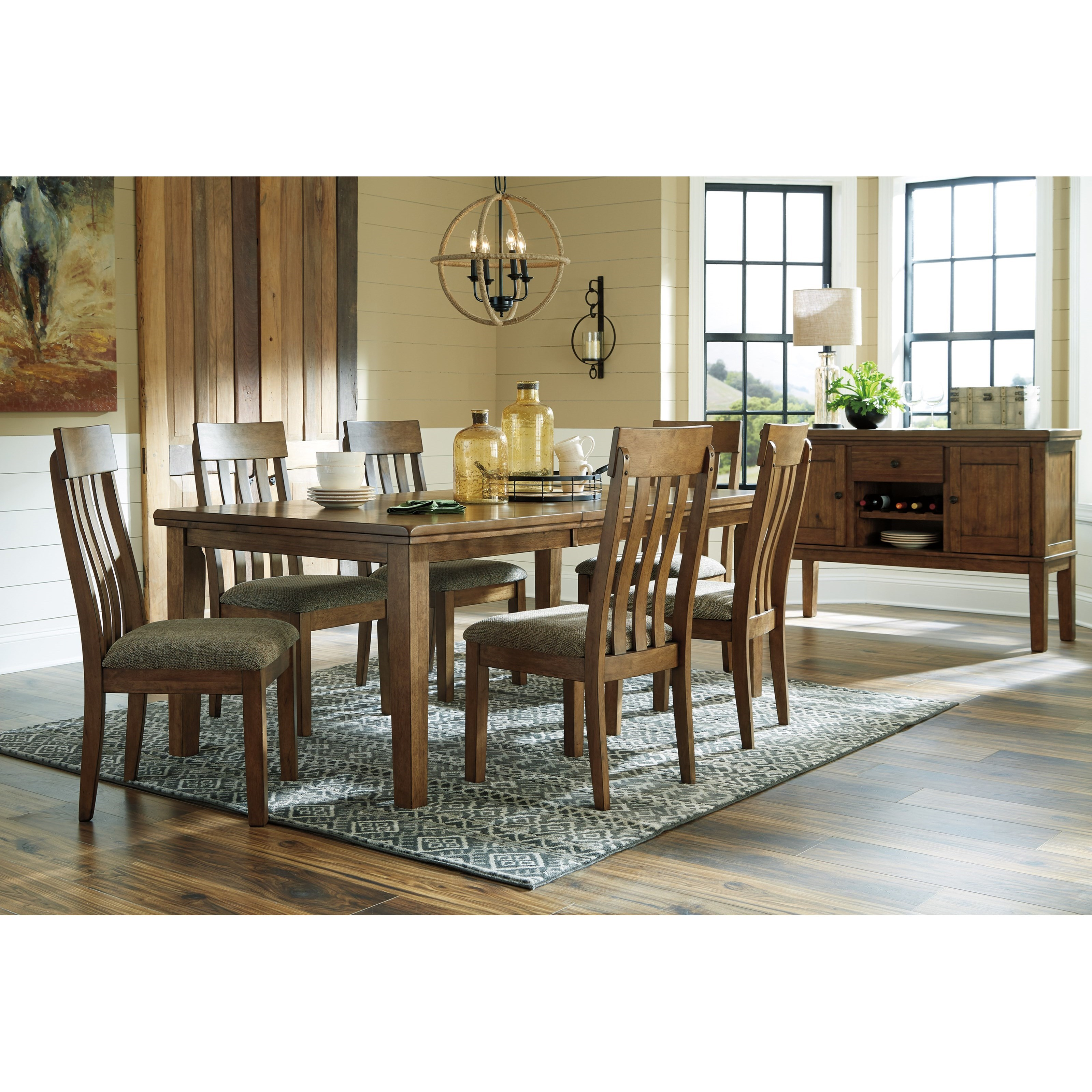 Informal Dining Room: Benchcraft Flaybern Casual Dining Room Group
