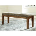 Benchcraft Flaybern Large Upholstered Dining Room Bench