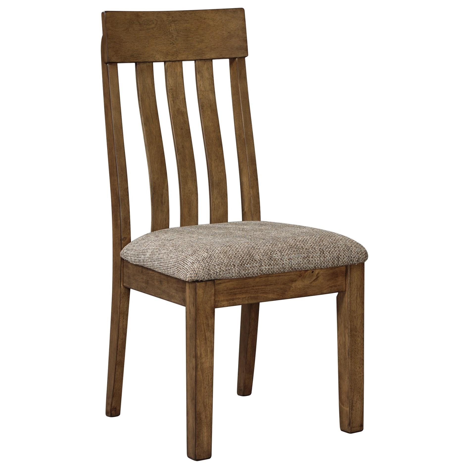 Levits Furniture: Benchcraft Flaybern D595-01 Dining Upholstered Slat Back
