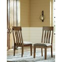 Benchcraft Flaybern Dining Upholstered Slat  Back Side Chair