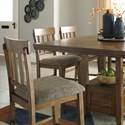 Benchcraft Flaybern Casual Upholstered Barstool