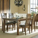 Benchcraft Flaybern 5 Piece Rectangular Table and Chair Set