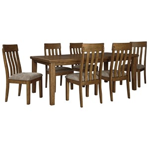 Benchcraft Flaybern 7 Piece Table and Chair Set