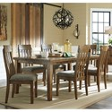 Benchcraft Flaybern 7 Piece Rectangular Table and Chair Set