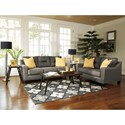 Benchcraft Forsan Nuvella Contemporary Queen Sofa Sleeper in Performance Fabric