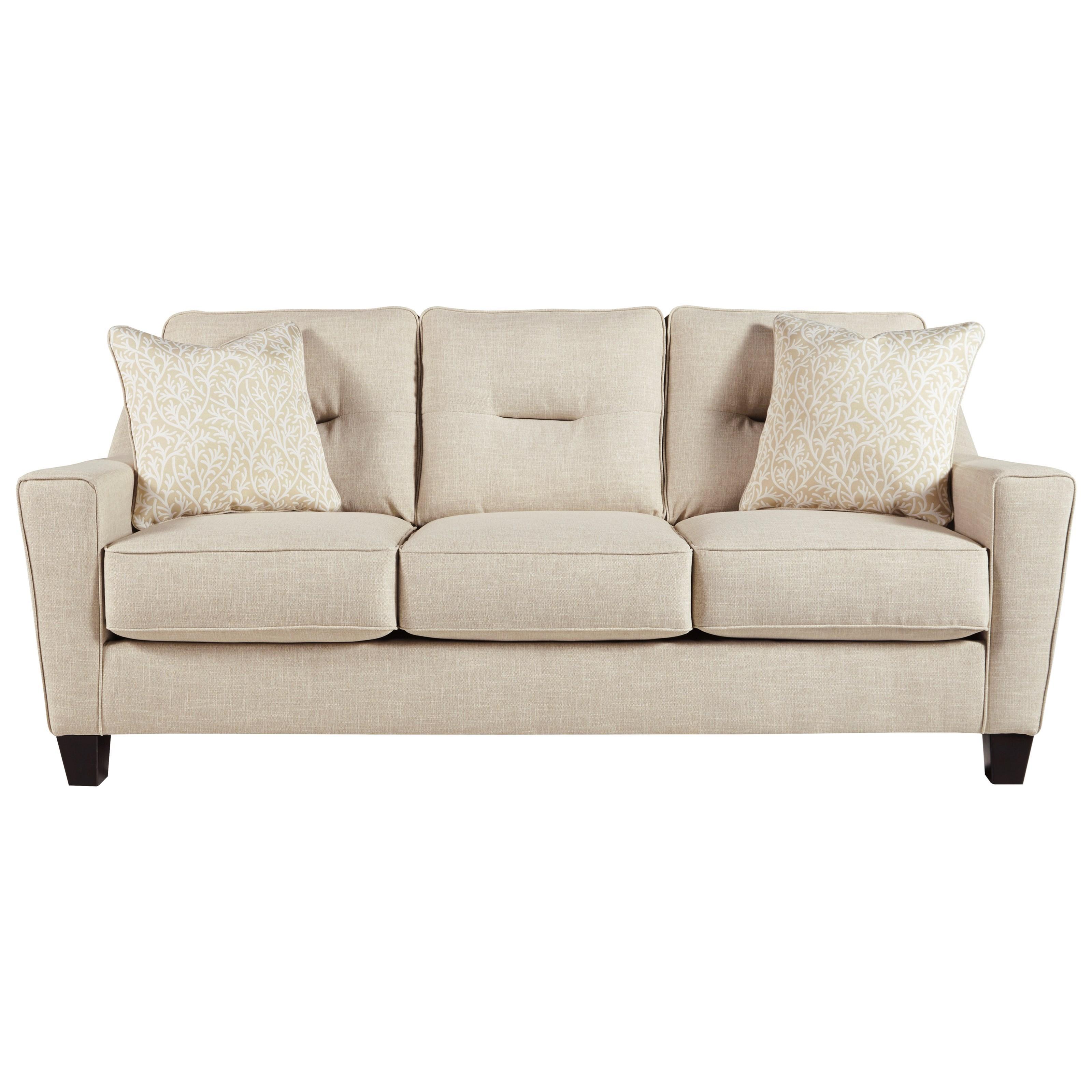 Benchcraft Forsan Nuvella Queen Sofa Sleeper - Item Number: 6690539