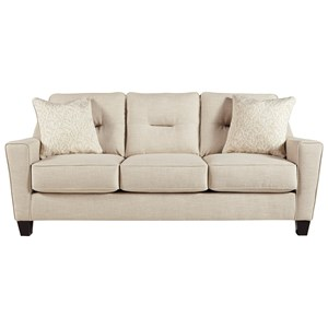 Benchcraft Forsan Nuvella Queen Sofa Sleeper