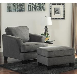 Ashley Gayler Chair & Ottoman