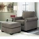 Benchcraft Gilman Chair & Ottoman - Item Number: 9260220+14