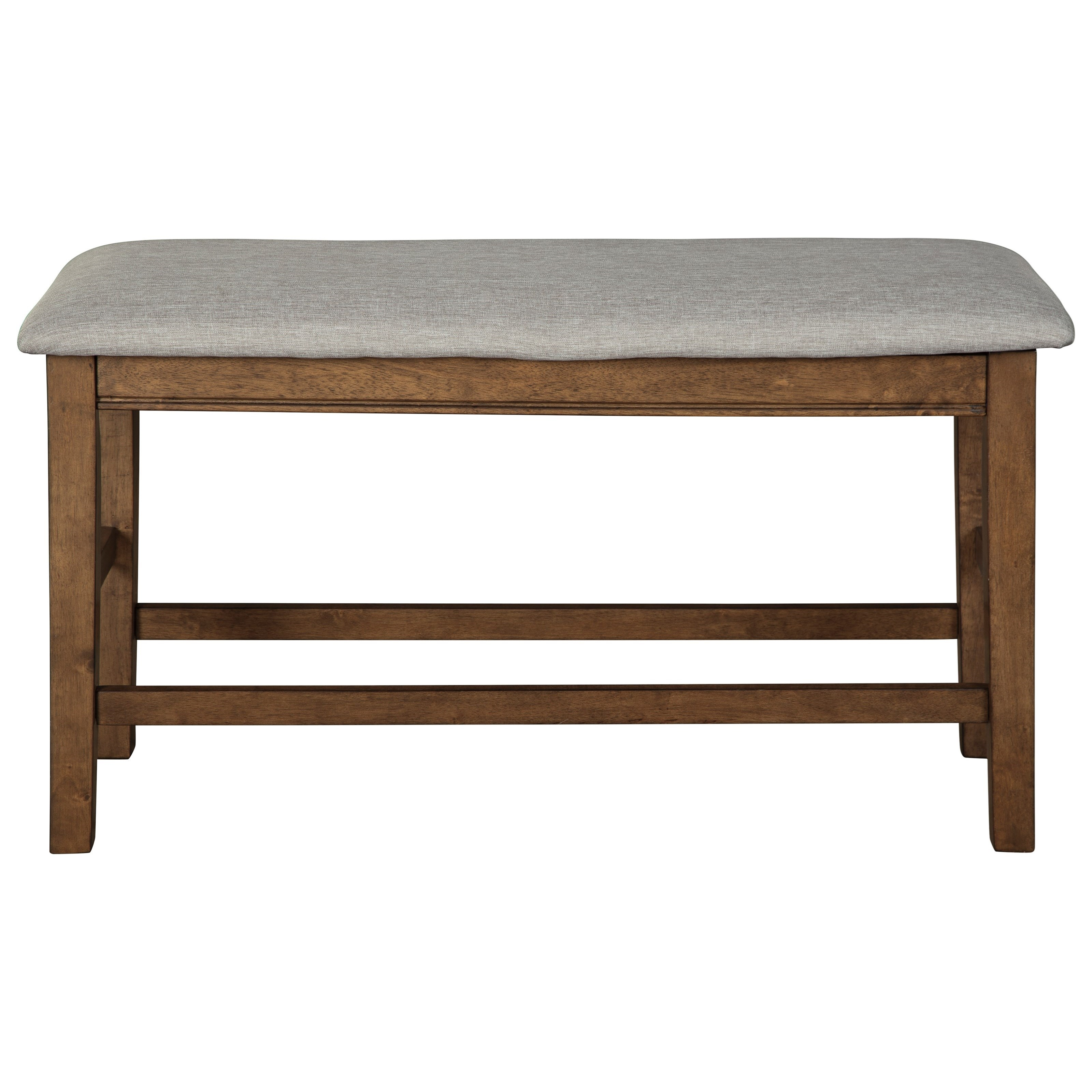 Counter-Height Upholstered Bench