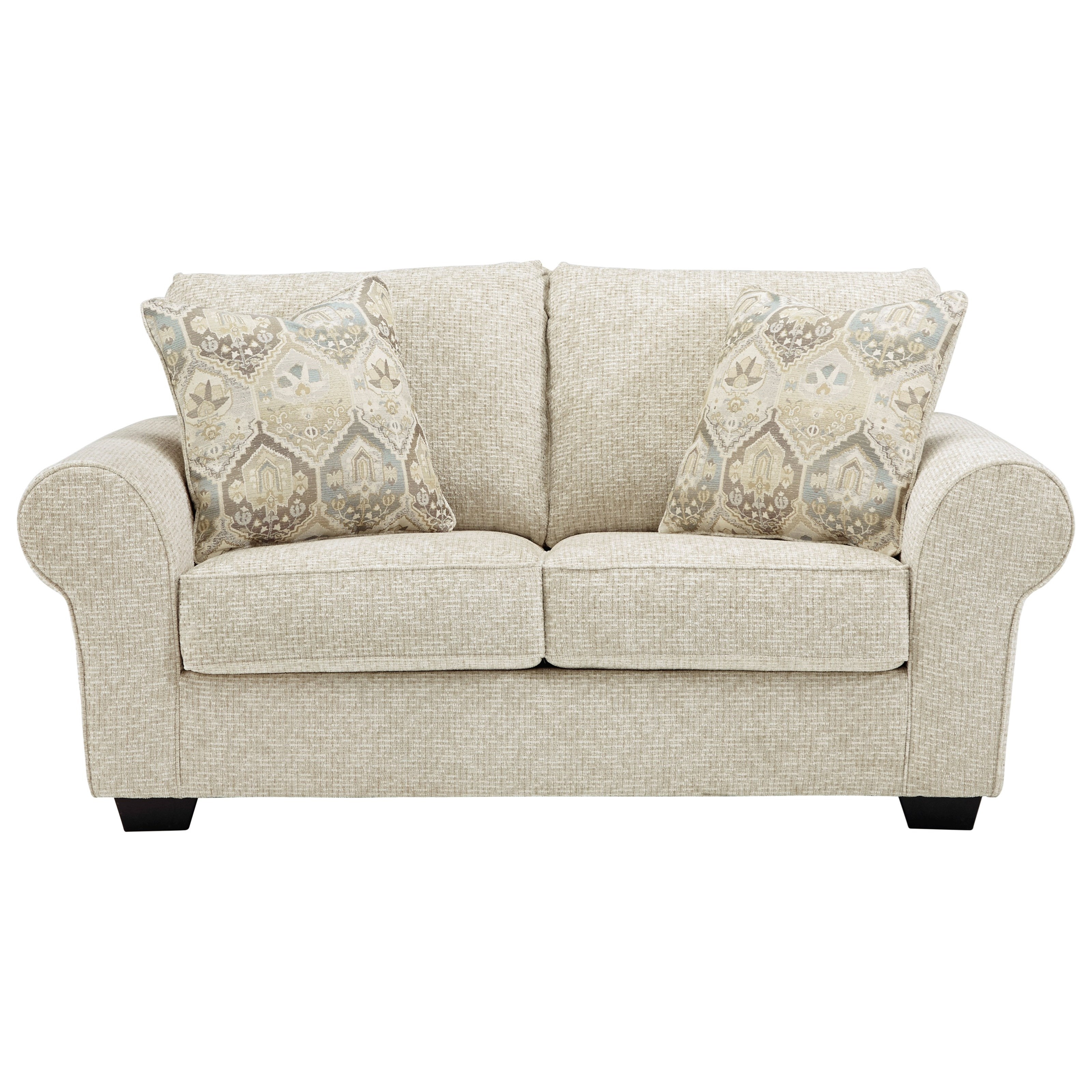Haisley Loveseat by Benchcraft at Beck's Furniture