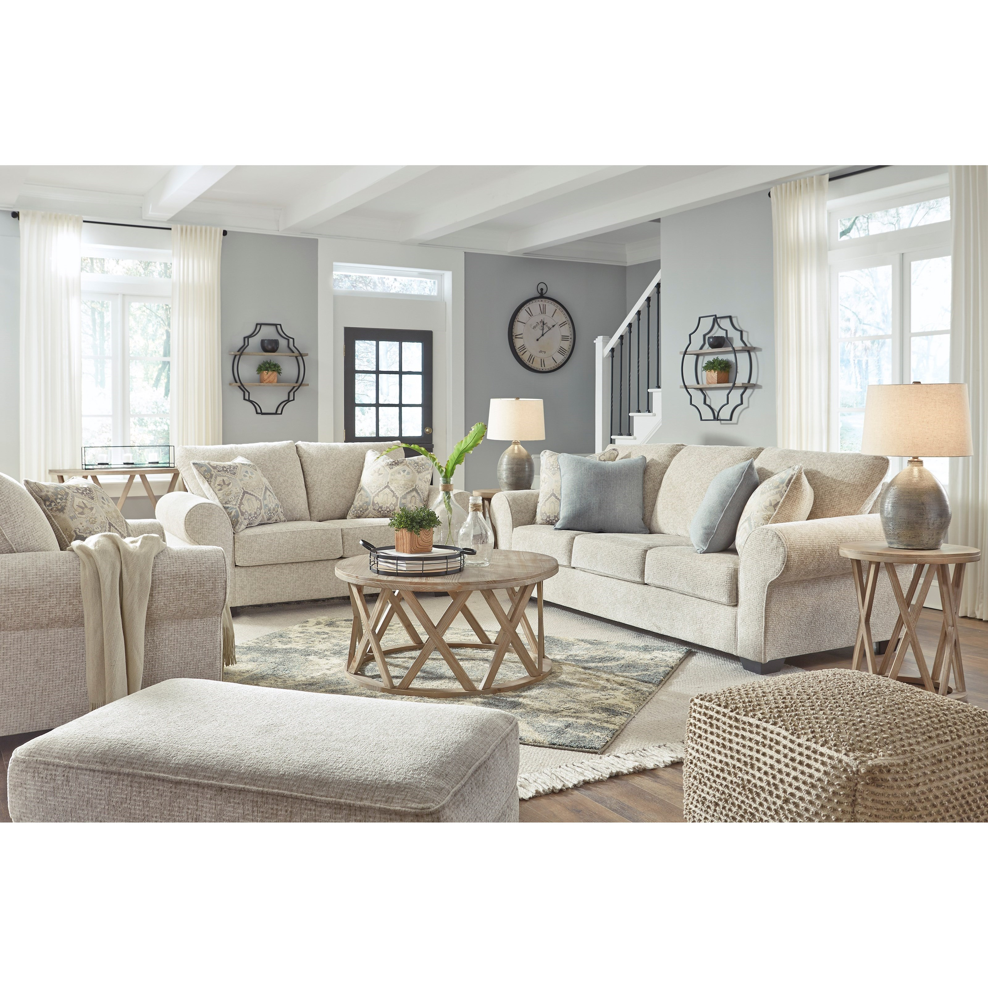 Haisley Living Room Group by Benchcraft at Northeast Factory Direct