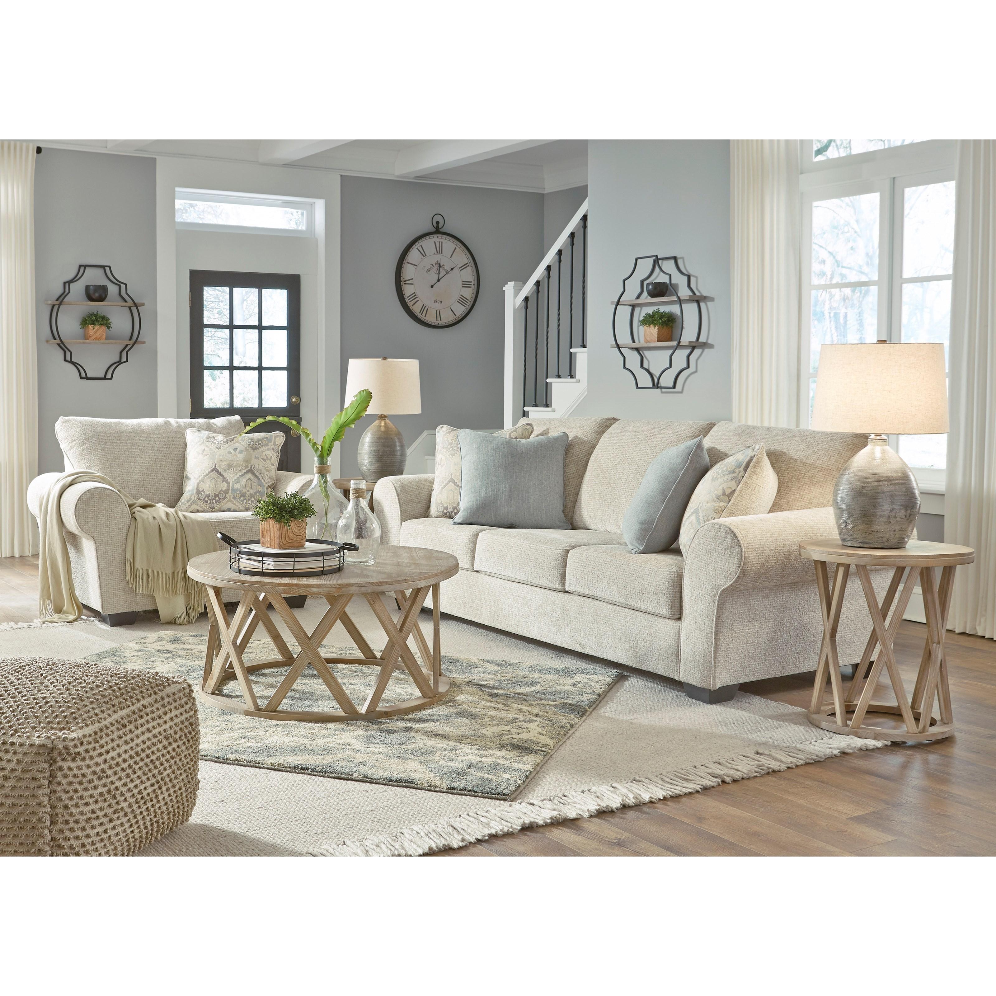 Benchcraft Haisley Stationary Living Room Group Rife S Home Furniture Stationary Living Room Groups