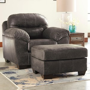Benchcraft Havilyn Chair & Ottoman