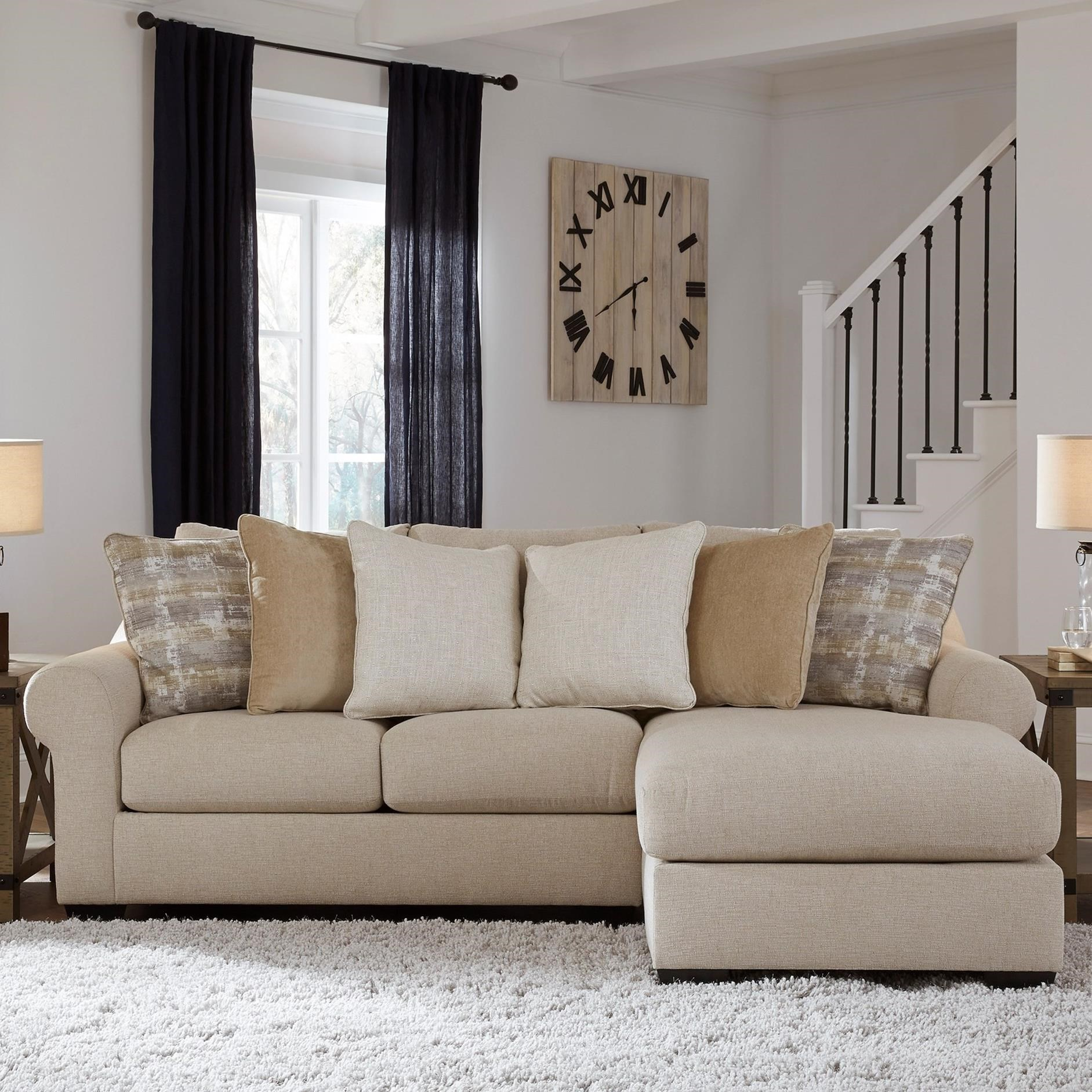 Ingleside Sofa Chaise by Benchcraft at Beck's Furniture