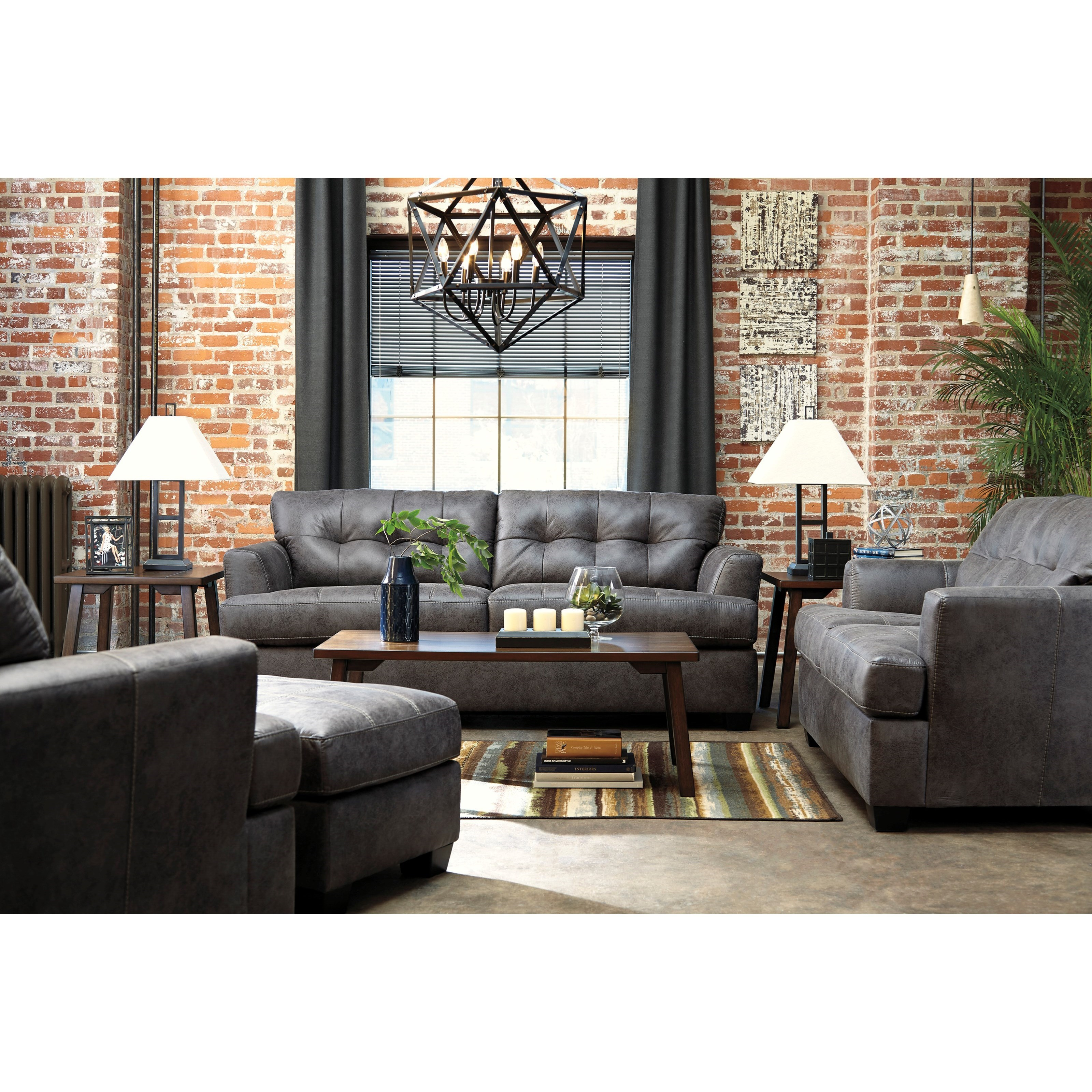 Benchcraft Inmon Stationary Living Room Group - Item Number: 65807 Living Room Group 2