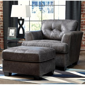 Ashley Inmon Chair & Ottoman