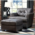 Benchcraft Inmon Chair & Ottoman - Item Number: 6580720+14
