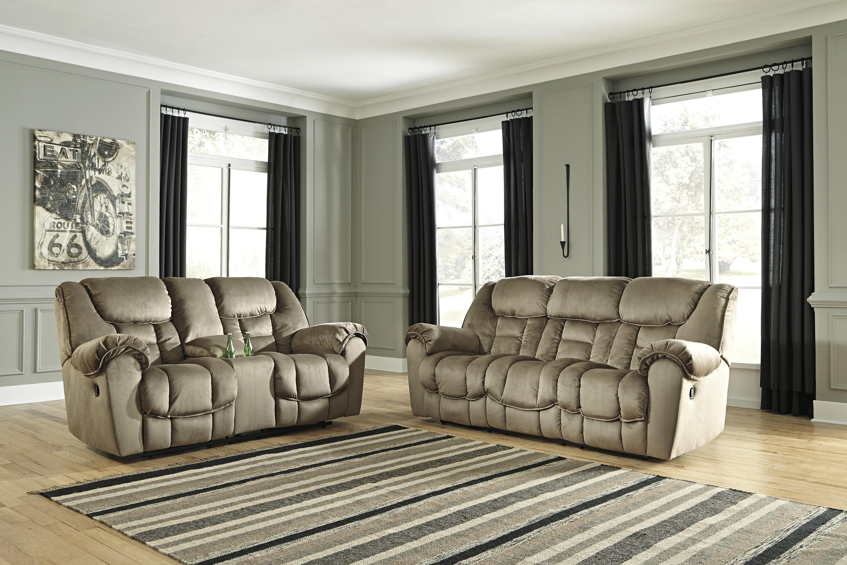 Benchcraft Jodoca Reclining Living Room Group - Item Number: 36601 Living Room Group 1