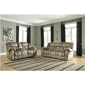 Benchcraft Jodoca Reclining Living Room Group