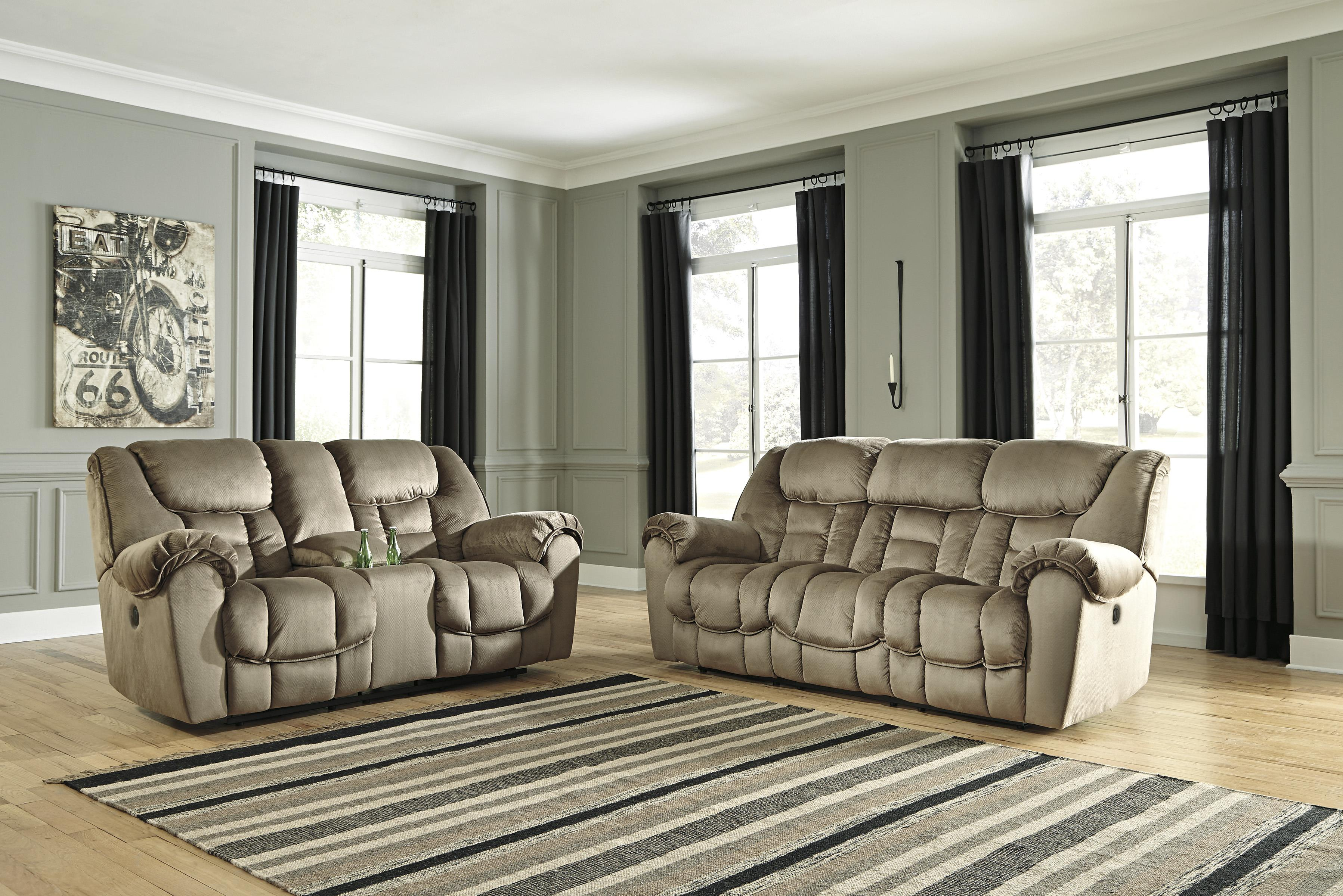 Benchcraft Jodoca Reclining Living Room Group - Item Number: 36601 Living Room Group 2