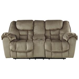 Ashley Jodoca Glider Recl Power Loveseat w/ Console