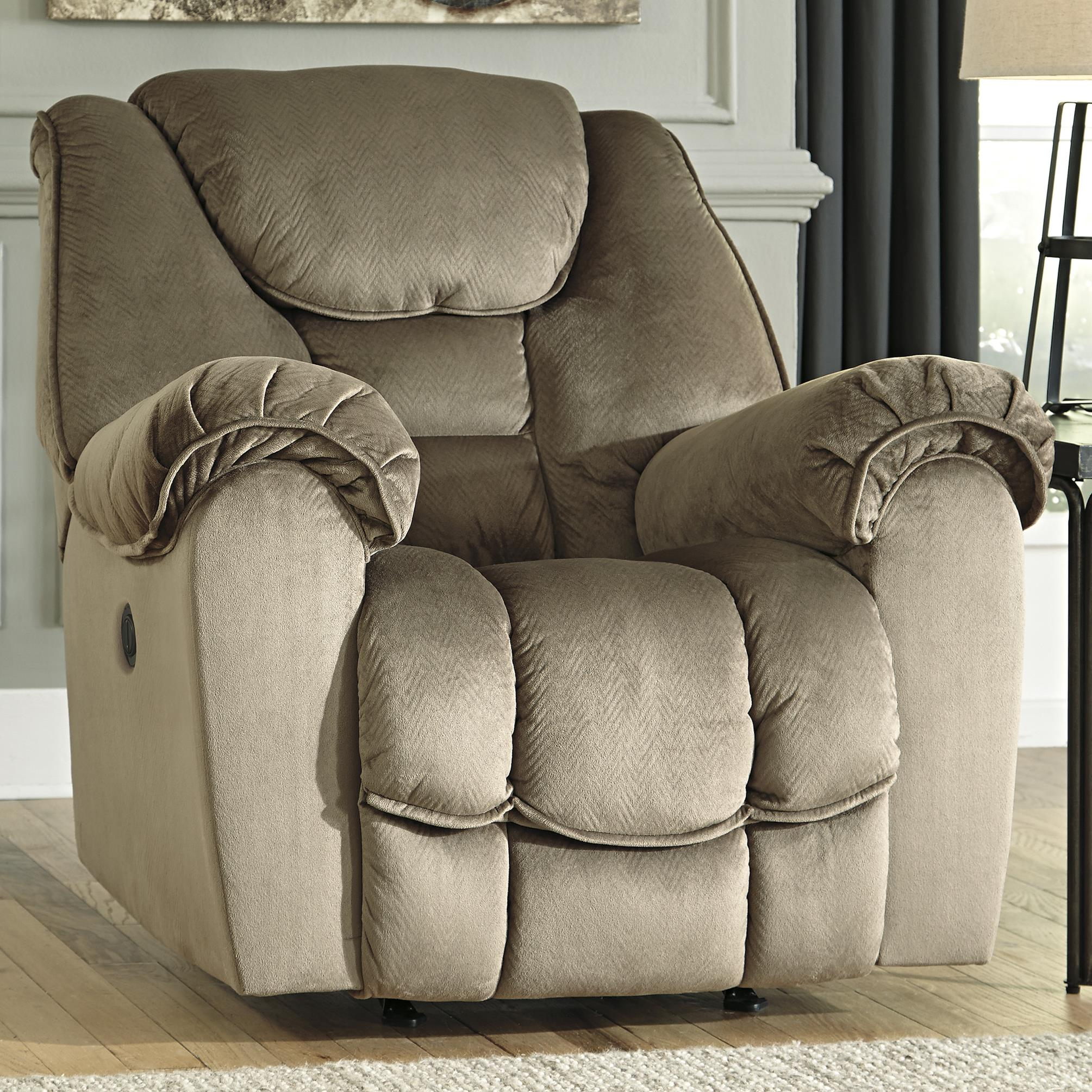 Benchcraft Jodoca Power Rocker Recliner - Item Number: 3660198
