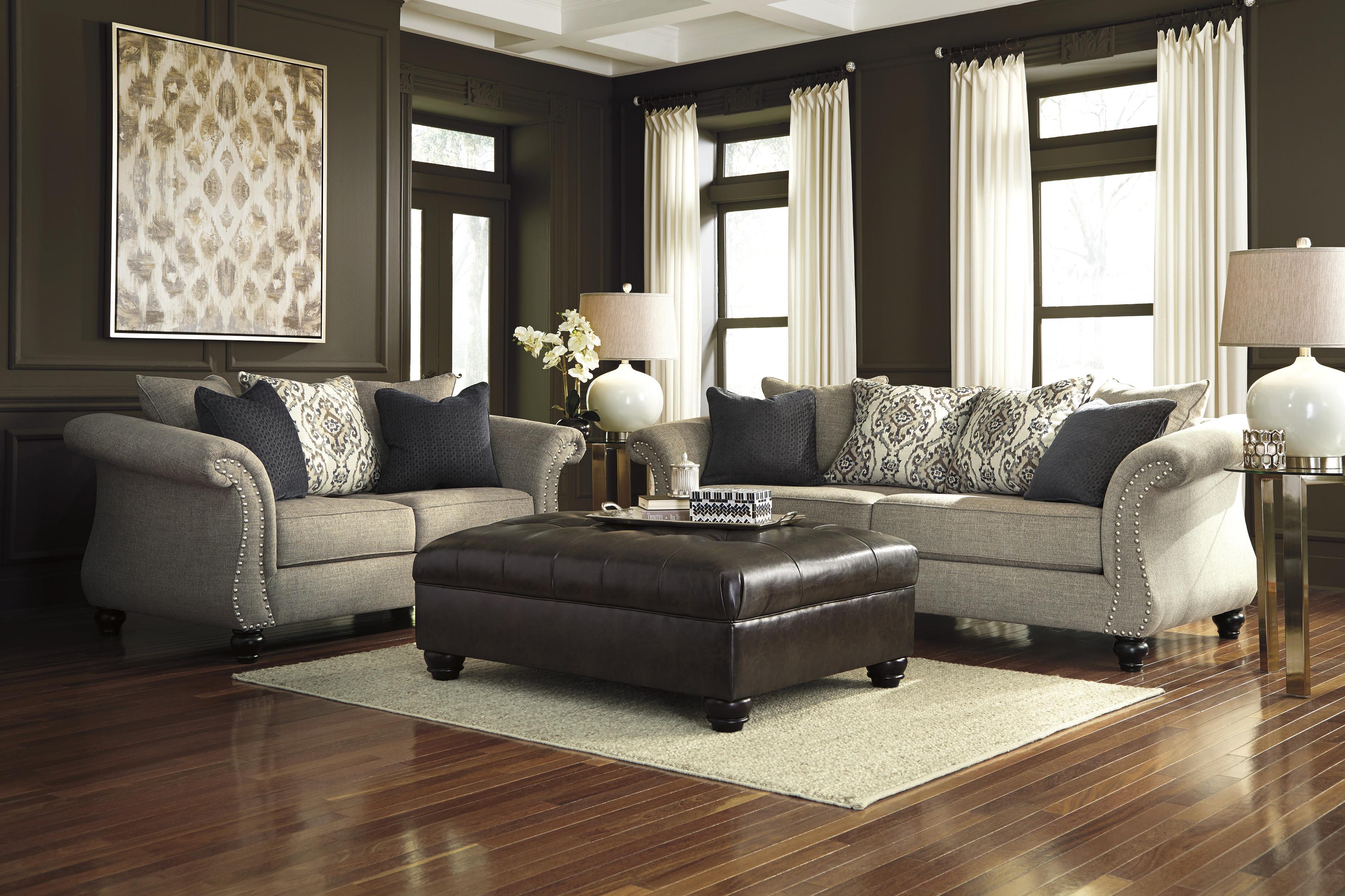 Benchcraft Jonette Stationary Living Room Group - Item Number: 46101 Living Room Group 2