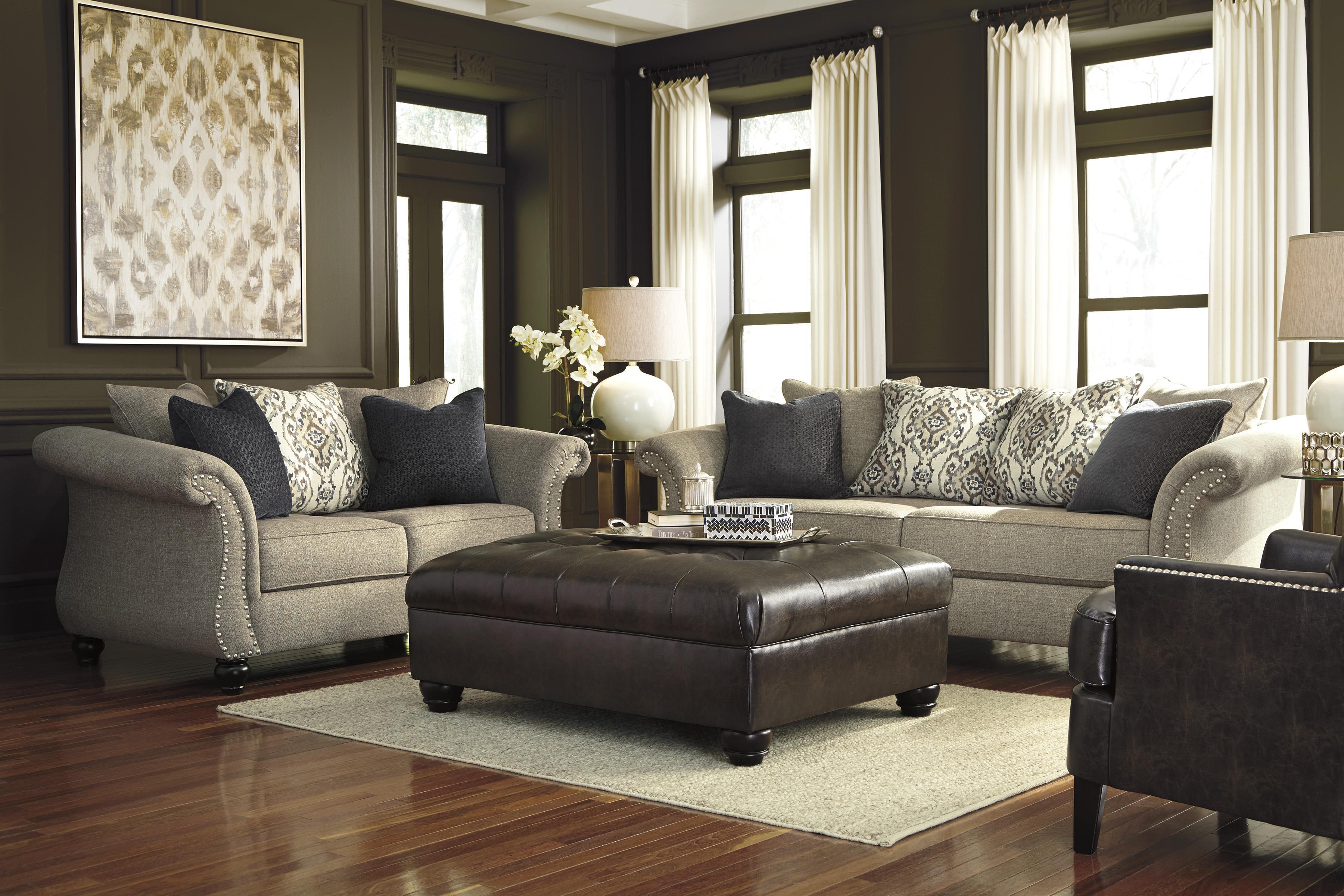 Benchcraft Jonette Stationary Living Room Group - Item Number: 46101 Living Room Group 3