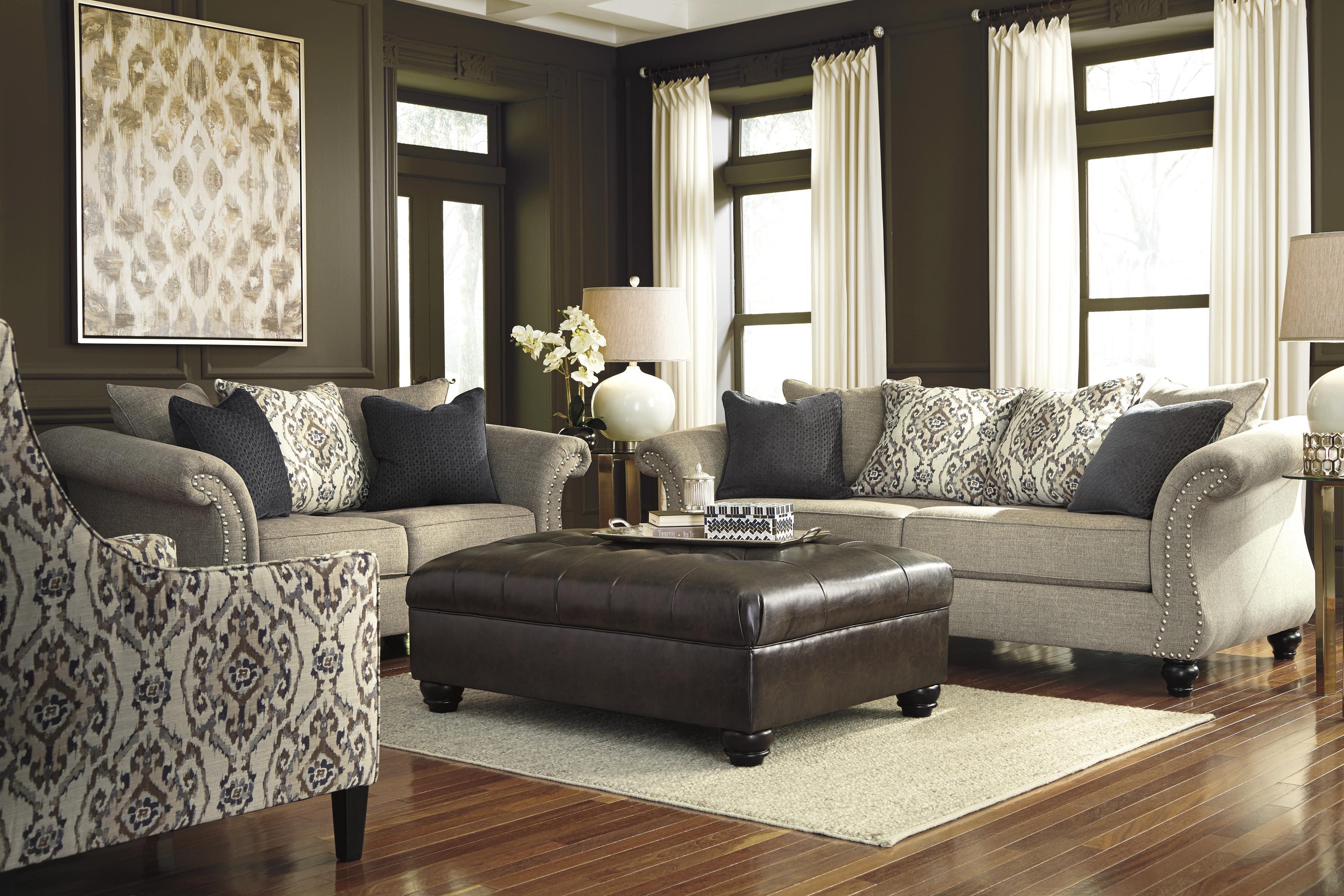 Ashley/Benchcraft Jonette Stationary Living Room Group - Item Number: 46101 Living Room Group 4