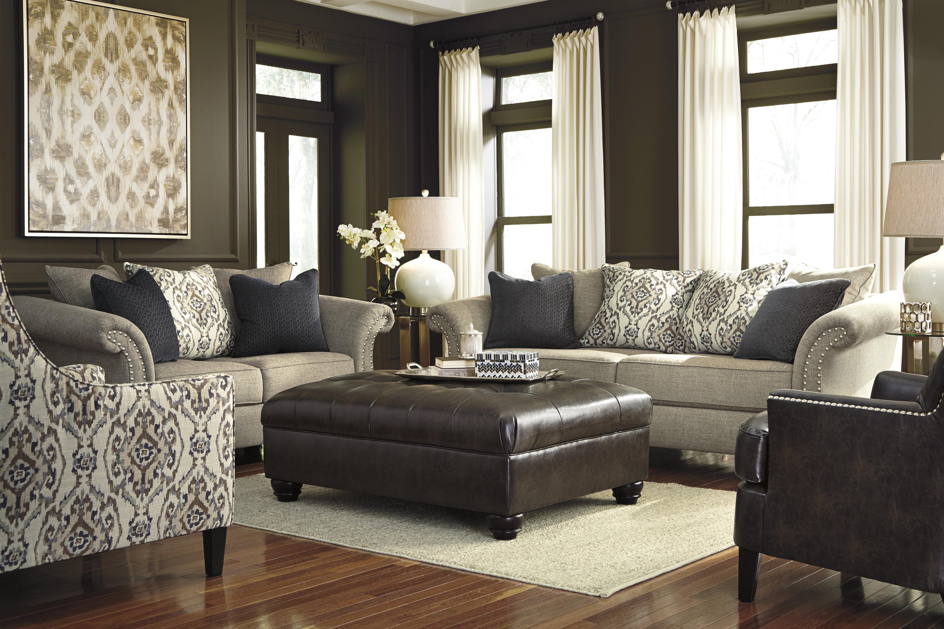 Ashley/Benchcraft Jonette Stationary Living Room Group - Item Number: 46101 Living Room Group 5