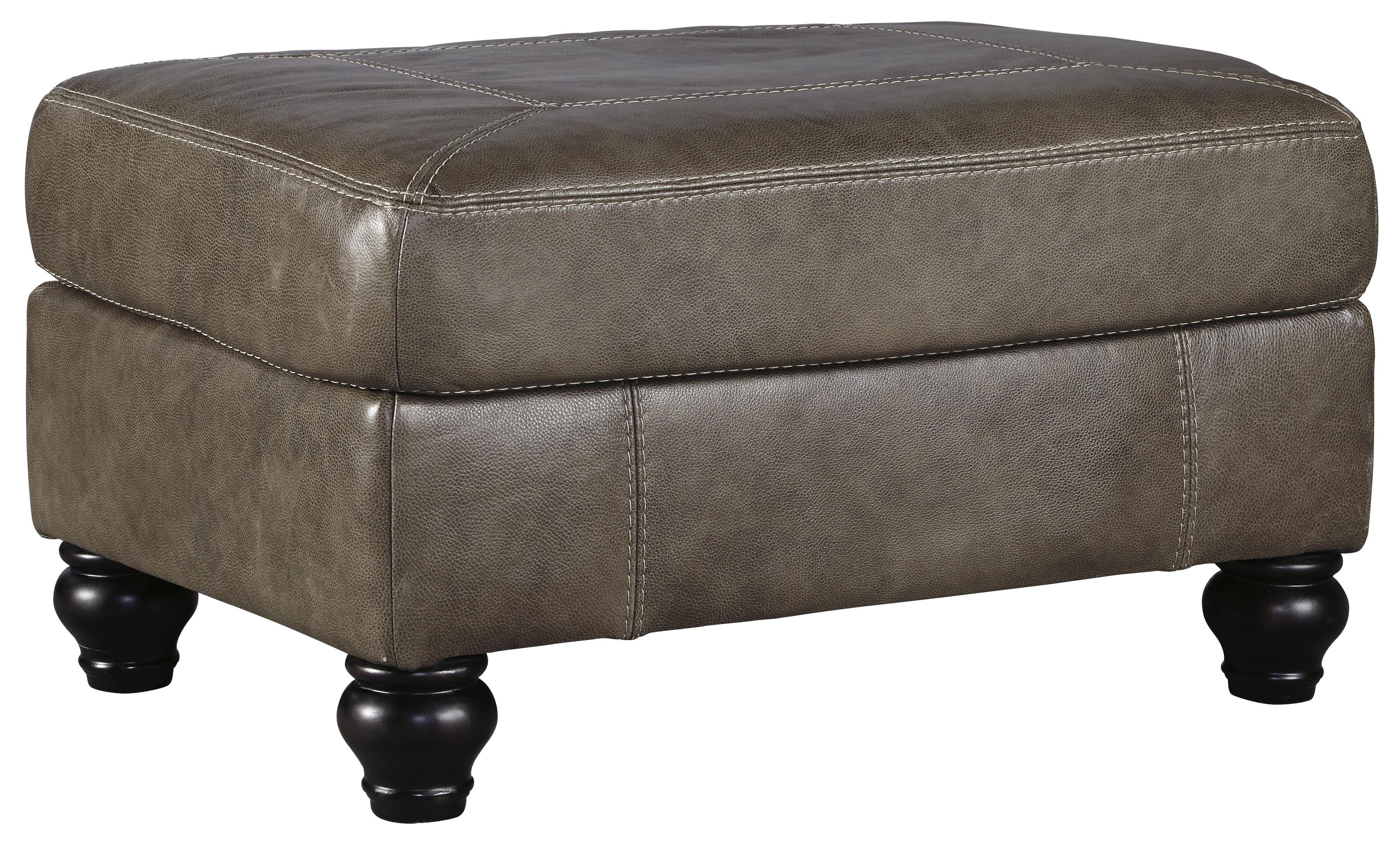 Benchcraft Kannerdy Ottoman - Item Number: 8040214