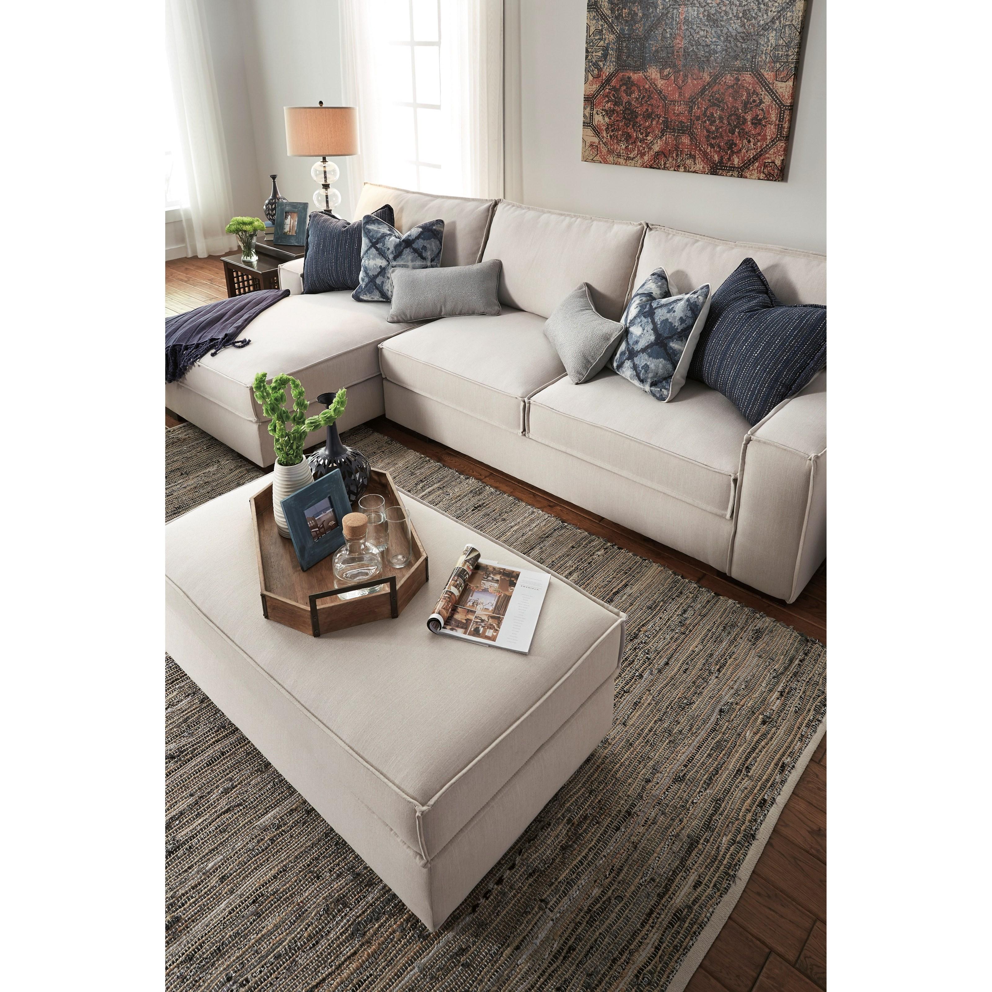 Ashley/Benchcraft Kendleton Stationary Living Room Group - Item Number: 54704 Living Room Group 1