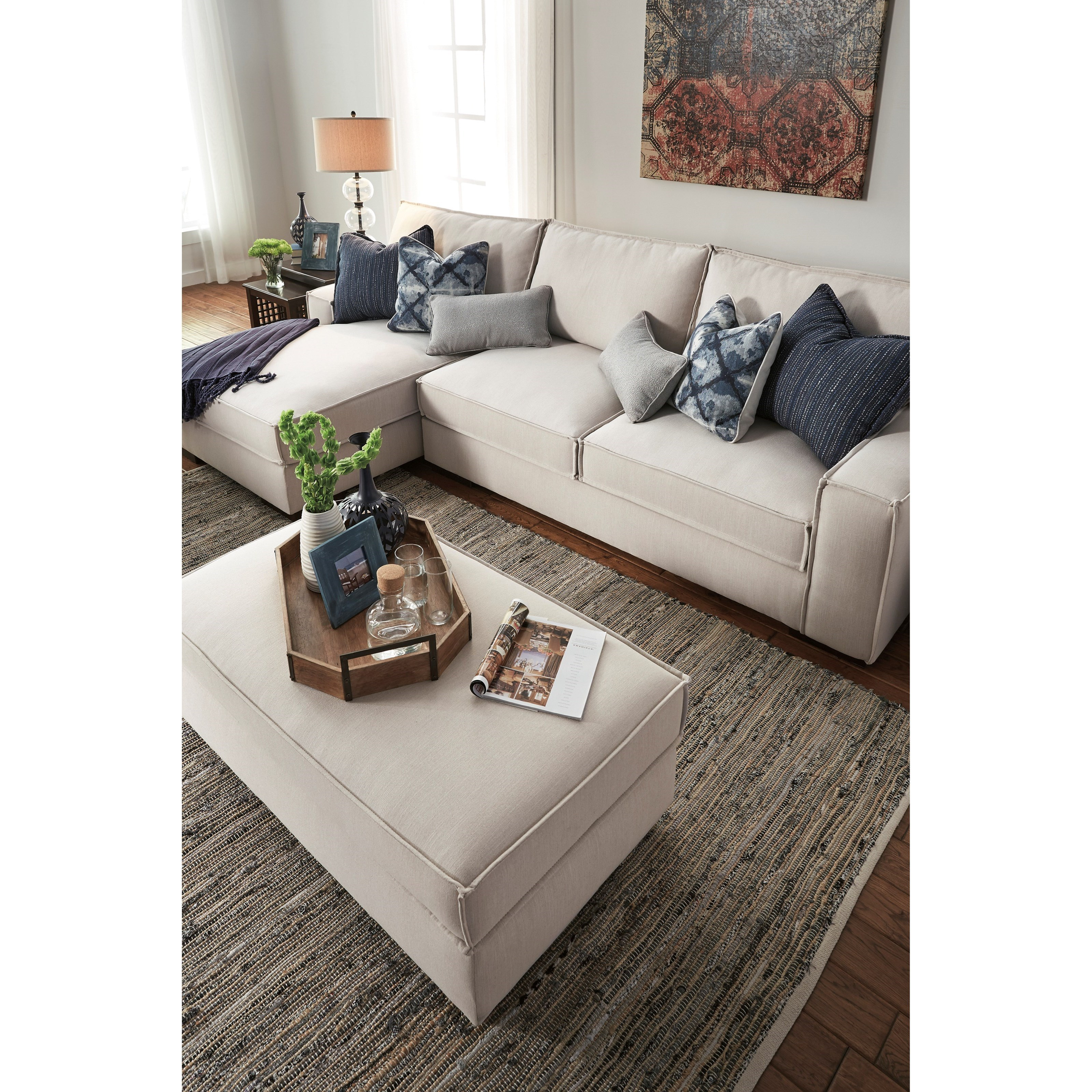 Benchcraft Kendleton Modern 2 Piece Sectional With Left