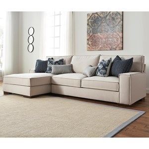 Benchcraft Kendleton 2-Piece Sectional with Left Chaise