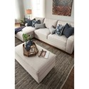 Benchcraft Kendleton Modern 2-Piece Sectional with Left Chaise and UltraPlush Seat Cushions