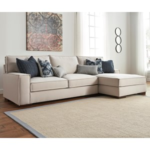 Benchcraft Kendleton 2-Piece Sectional with Right Chaise