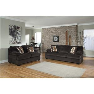 Benchcraft Kenzel Sofa with Matching Loveseat