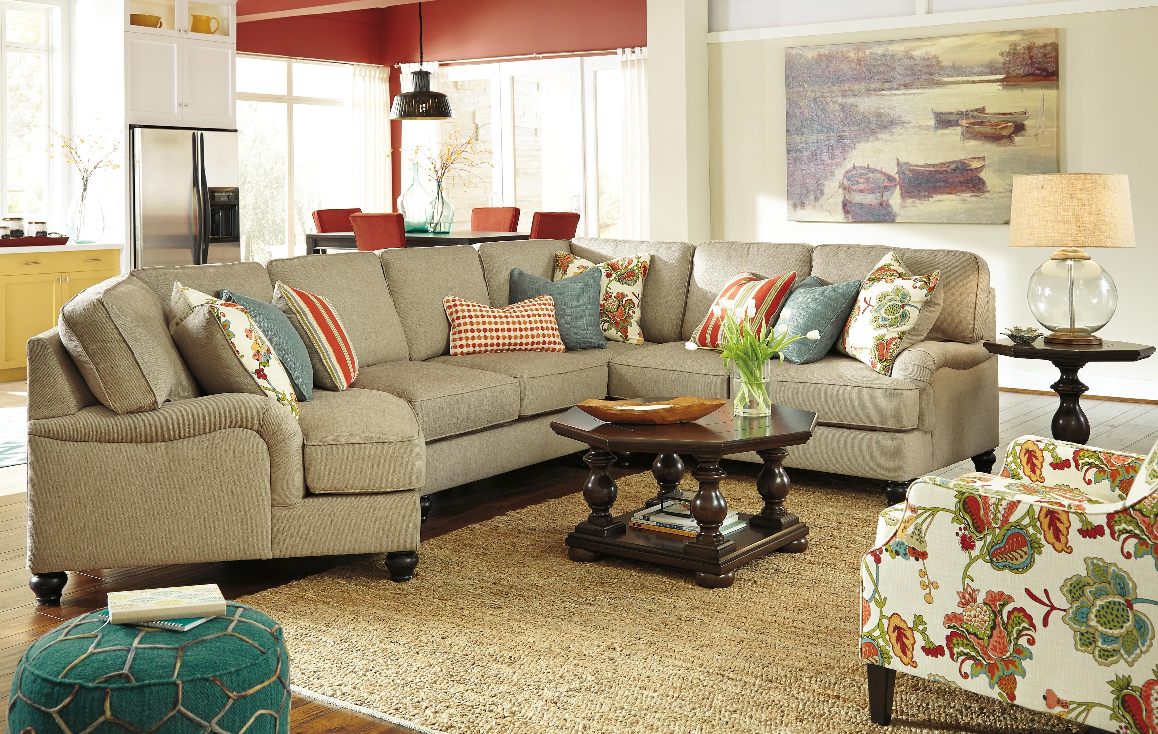 Ashley/Benchcraft Kerridon Stationary Living Room Group - Item Number: 26300 Living Room Group 11