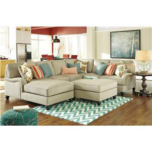 Benchcraft Kerridon Stationary Living Room Group