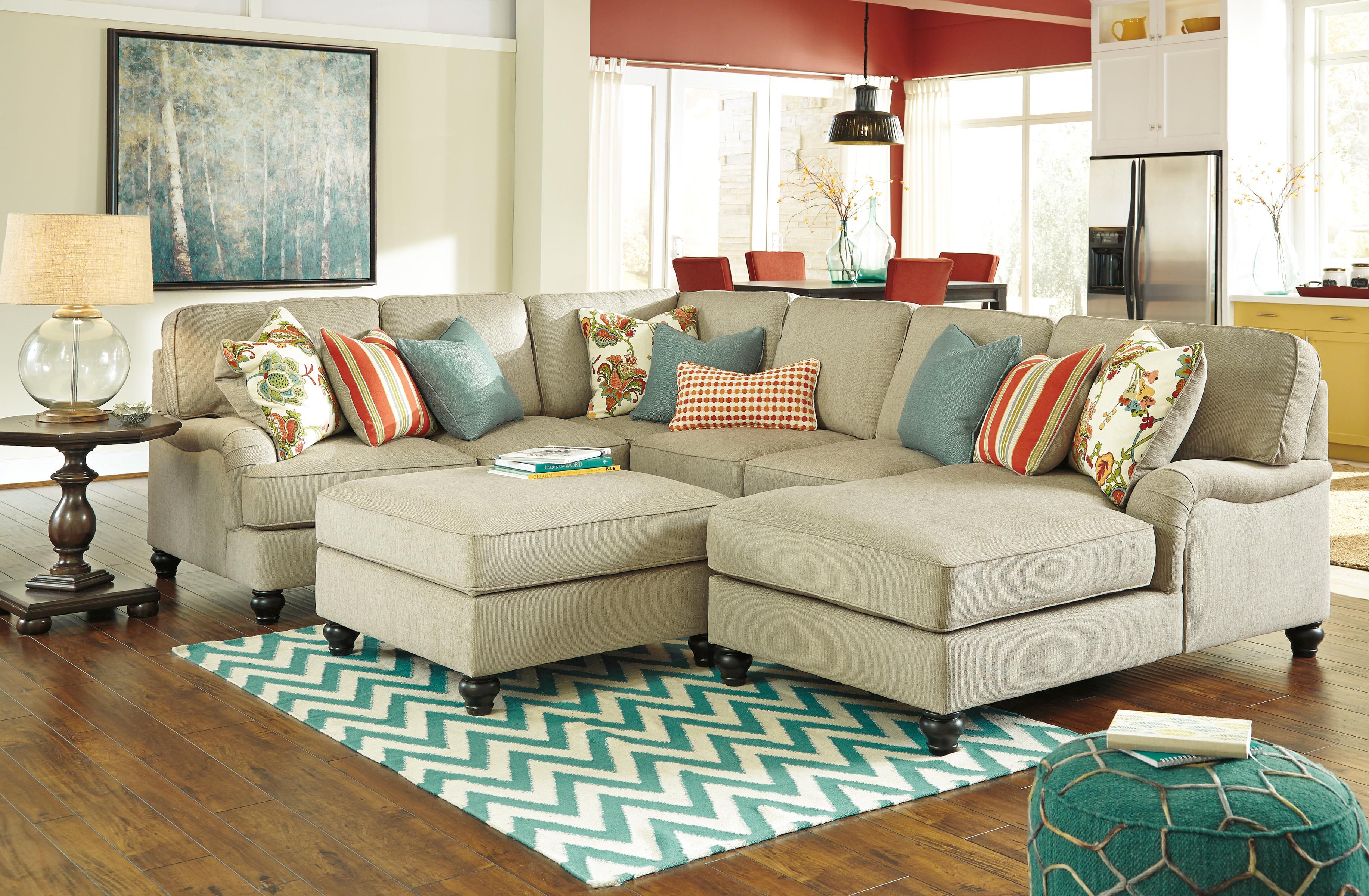 Ashley/Benchcraft Kerridon Stationary Living Room Group - Item Number: 26300 Living Room Group 6