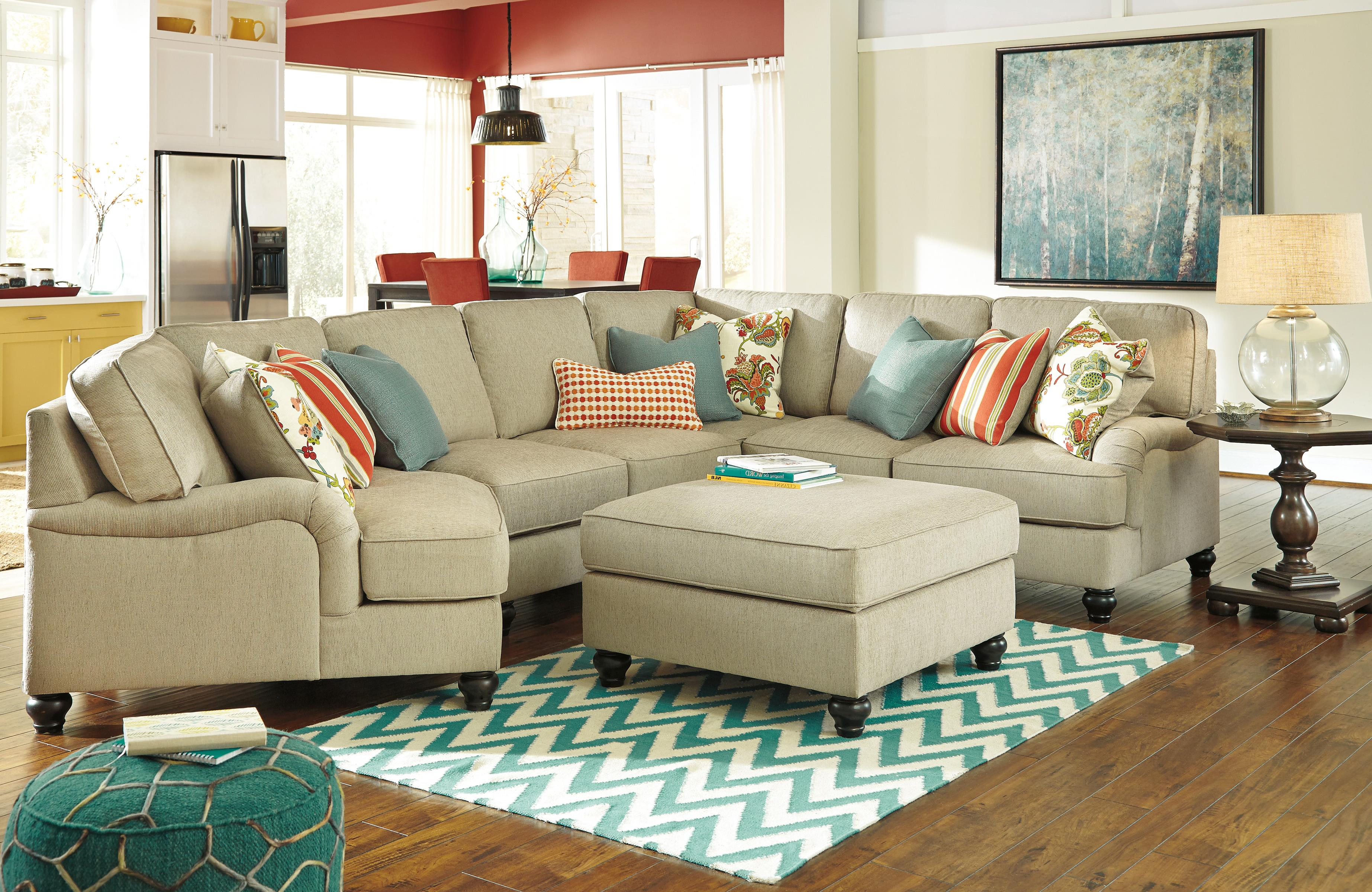 Ashley/Benchcraft Kerridon Stationary Living Room Group - Item Number: 26300 Living Room Group 9