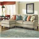 Benchcraft Kerridon 2-Piece Sectional with Left Chaise - Item Number: 2630016+56